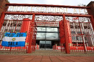 The Riverside Stadium, Middlesbrough. Getty Images.