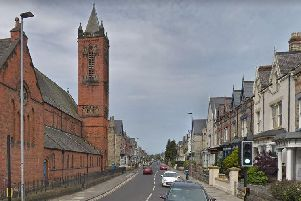 Grange Road in Hartlepool, where residents have raised concerns about cold callers. Image copyright Google Maps.
