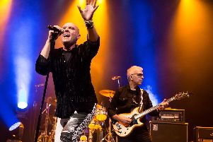 Glenn Gregory sang two classic David Bowie albums, with his former producer Tony Visconti on bass. All pics: Mick Burgess.