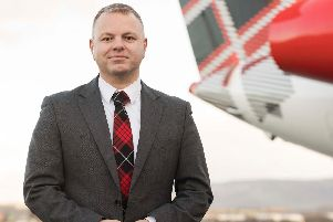 Managing director Jonathan Hinkles said Loganair is in the strongest position of any UK regional airline.