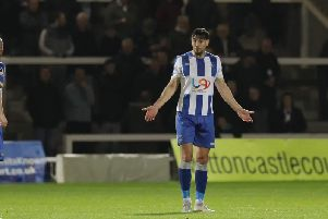 Hartlepool United defender Myles Anderson has been in impressive form for Craig Hignett's side as they've gone four games unbeaten.