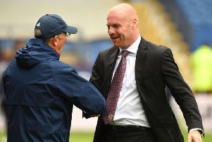 Middlesbrough boss Tony Pulis caught up with Burnley's Sean Dyche on Tuesday night.