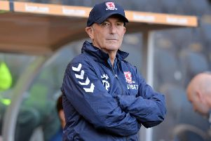 Tony Pulis has spoken after Middlesbrough's defeat to Brentford