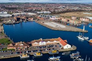 20million of the cash coming from the Tees Valley Combined Authority will be spent on the Hartlepool Waterfront development.
