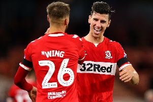 Middlesbrough have appealed Daniel Ayala's red card against Preston North End on Wednesday evening.