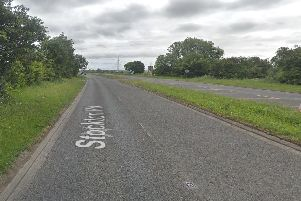 Bailey Spurs, 18, from Hartlepool, sped from police at 100mph on the A689 heading into Hartlepool. Picture: Google.