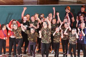 Manor Academy pupils who won last year's Hartlepool Schools Hip Hop Dance Championships at the Borough Hall.