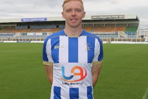 Luke Williams signed on a free from Scunthorpe in the summer.