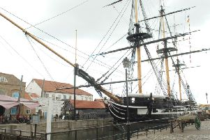 Hartlepool's landmark HMS Trincomalee was given 4m from the National Lottery.