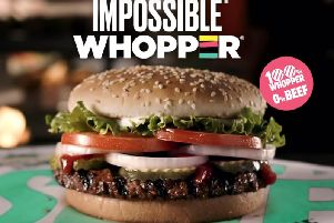 Burger King's plant-based Impossible Whopper