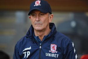 Under-pressure Tony Pulis faces a big weekend with Middlesbrough.