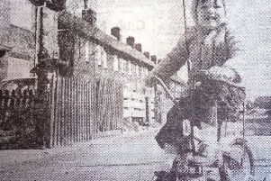 Can you recognise this Graythorp street and the youngster playing on the bike?