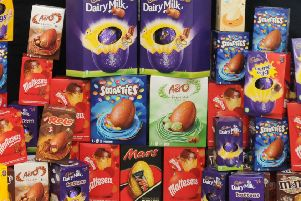 A selection of Easter eggs.
