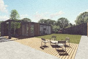 Artists impression of the new Bradley Lowery Foundation holiday home set to be build in Scarborough.