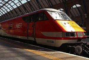 Rail services have been disrupted due to damage to overhead wires.