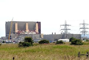 Hartlepool Power Station.
