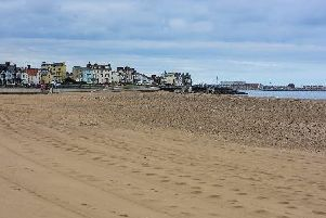 Seaton Carew beach: It looks set to be a warm and sunny weekend.