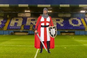 Medieval knights is this year's fancy dress theme for Hartlepool United fans