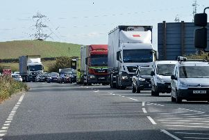 The A179 in Hartlepool.