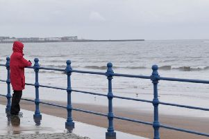 Outbreaks of rain are set to hit Hartlepool later today.