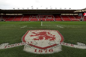 The Riverside, home of Middlesbrough FC.