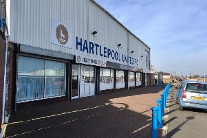The Hartlepool United Super 6 Stadium.