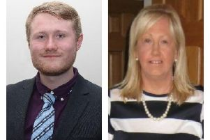 Hart ward candidates James Brewer and Aileen Kendon.