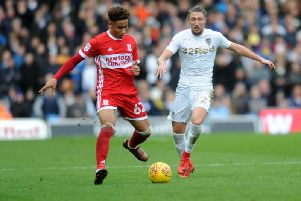 Middlesbrough's Marcus Tavernier has been linked with two Premier League sides