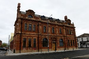 The front view of the Biz Whitby Street. Picture by FRANK REID