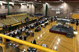 The election count in Hartlepool.