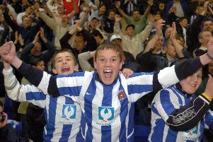 Sheer delight for Pools fans.
