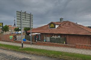 McDonalds at Hartlepool Marina.'Image by Google Maps.
