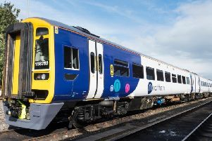 The incident happened on a Northern Rail train.