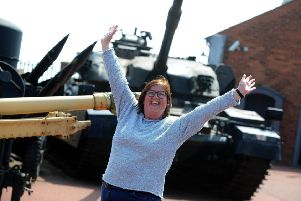 Heugh Gun Battery has achieved its �5,000 target to stay open. Manager Diane Stephens