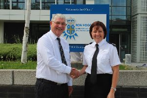 Ron Hogg and Jo Farrell