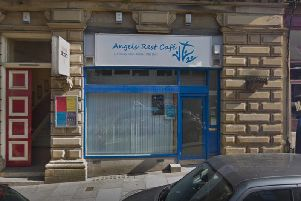 The cafe on Crossley Street