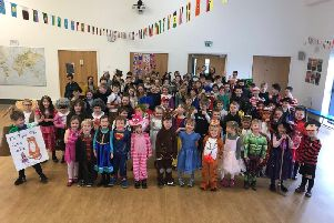 Pupils at Midgley School celebrated World Book Day by dressing up as their favourite characters.