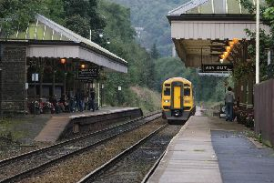 Hebden Bridge Train Station