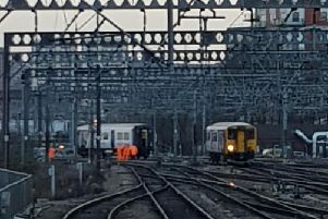 'Mayhem' at Leeds Station as train splits in two