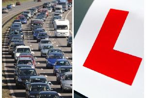 Learner drivers will be on motorways from next month
