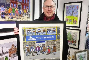 Roger Davies shows his latest artwork