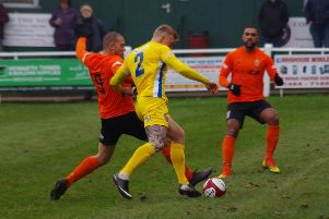 Aaron Martin and Zeph Thomas were kept quiet by Ossett United.