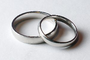 Popularity of religious marriages falling in Calderdale, figures reveal