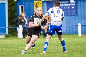 Danny Williams worked hard in the Siddal back row