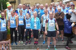 Halifax Harriers at the Joe Percy 10k