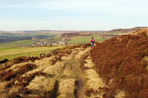 An injured and missing woman was rescued has been rescued from a Yorkshire moorland. Stock image.