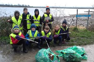 Children learn about protecting the environment with Yorkshire Water