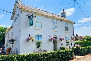 An outside shot of The Cow in Dalbury Lees. Picture by Berkeley Inns.