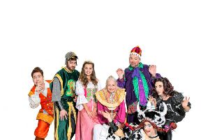 The cast of Jack and the Beanstalk. By Robling Photography.