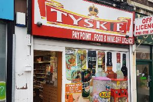 Qadri ran Tyskie, on Kirkgate in Wakefield.